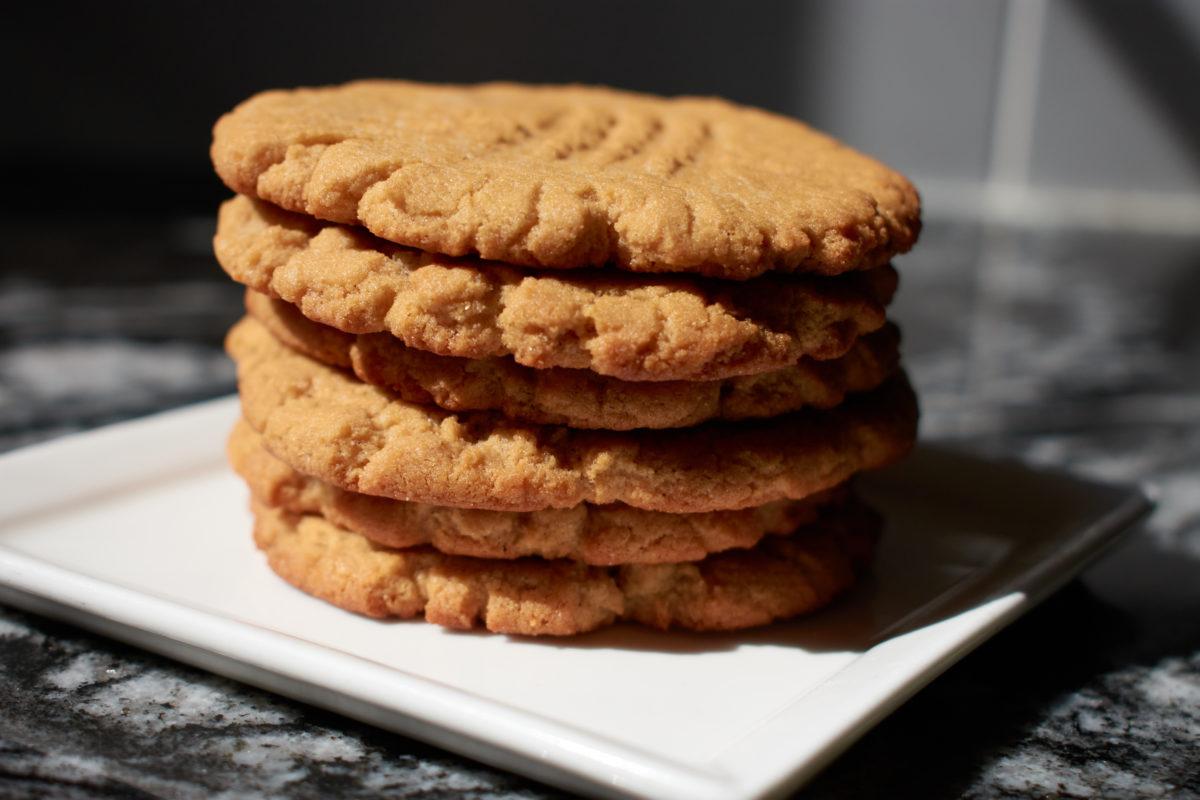 Vegan Gluten Free Peanut Butter Cookies
