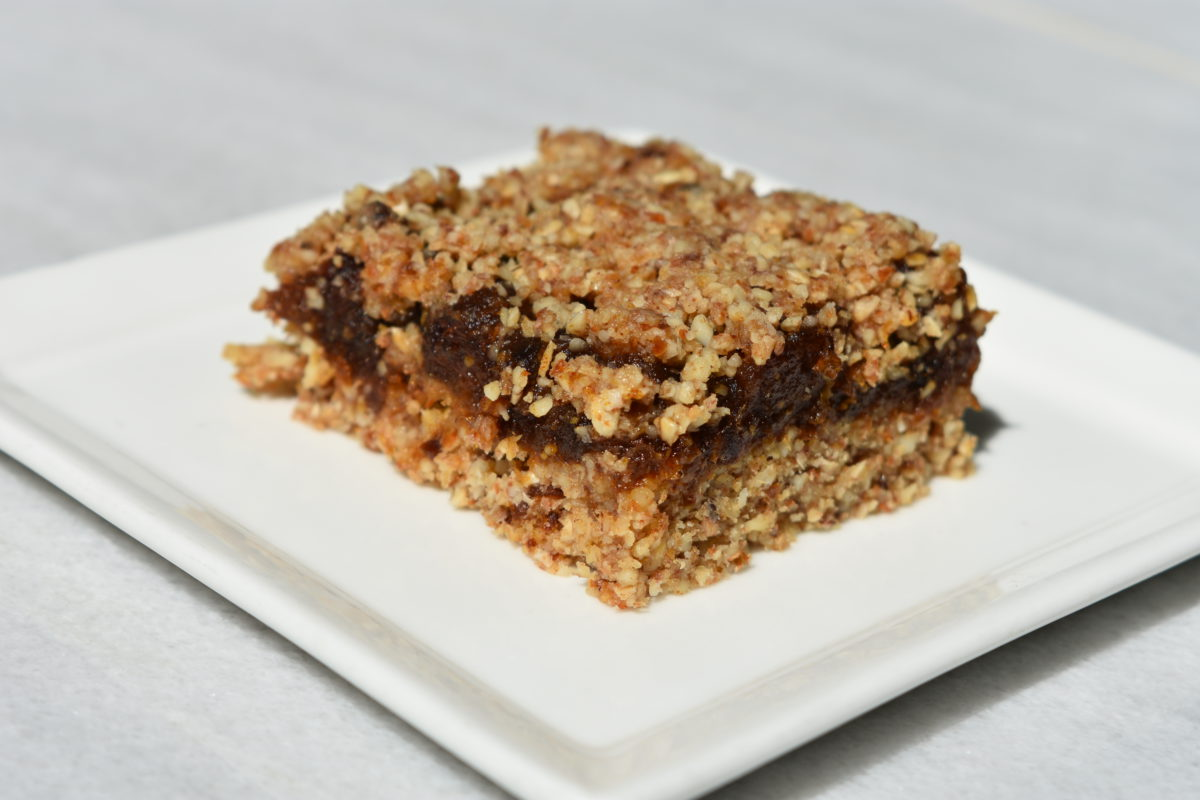 Raw Vegan Date Squares